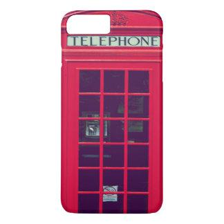 Capa iPhone 8 Plus/7 Plus Caixa vermelha britânica original do telefone