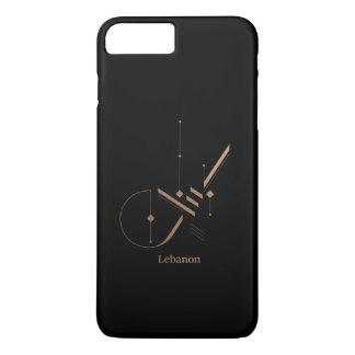 Capa iPhone 8 Plus/7 Plus caligrafia árabe moderna - Líbano