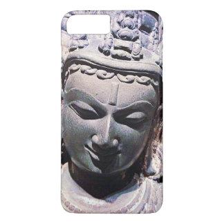 Capa iPhone 8 Plus/7 Plus Calma, foto de pedra asiática do Fim-acima da