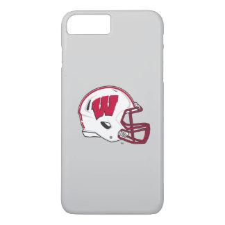 Capa iPhone 8 Plus/7 Plus Capacete de futebol de Wisconsin |