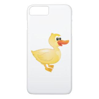 """Capa iPhone 8 Plus/7 Plus """"Capas de iphone do caráter do pato do selo"""