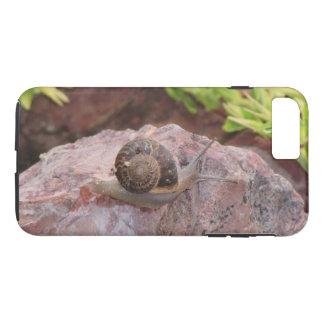 Capa iPhone 8 Plus/7 Plus Caracol em uma rocha