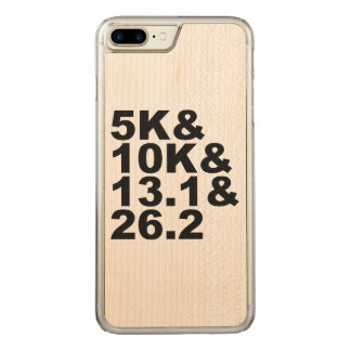 Capa iPhone 8 Plus/ 7 Plus Carved 5K&10K&13.1&26.2 (preto)