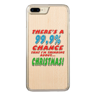 Capa iPhone 8 Plus/ 7 Plus Carved 99,9% NATAL (preto)