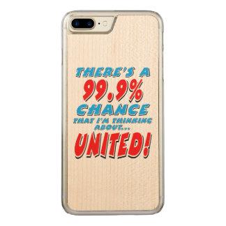 Capa iPhone 8 Plus/ 7 Plus Carved 99,9% UNIDO (preto)