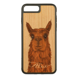 Capa iPhone 8 Plus/ 7 Plus Carved Alpaca legal e engraçada