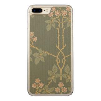 Capa iPhone 8 Plus/ 7 Plus Carved Arte de William Morris Blackberry GalleryHD do