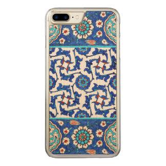 Capa iPhone 8 Plus/ 7 Plus Carved azulejo do iznik