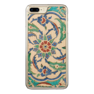 Capa iPhone 8 Plus/ 7 Plus Carved azulejo do iznik do palácio de Topkapi