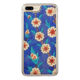 Capa iPhone 8 Plus/ 7 Plus Carved azulejo do iznik do palácio de Topkapi