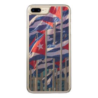 Capa iPhone 8 Plus/ 7 Plus Carved Bandeiras cubanas, Havana, Cuba