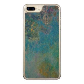 Capa iPhone 8 Plus/ 7 Plus Carved Belas artes GalleryHD floral das glicínias de