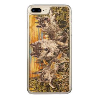 Capa iPhone 8 Plus/ 7 Plus Carved Bloco do funcionamento dos lobos