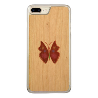 Capa iPhone 8 Plus/ 7 Plus Carved Borboleta