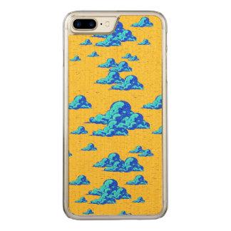 Capa iPhone 8 Plus/ 7 Plus Carved Caixa azul pequena das nuvens