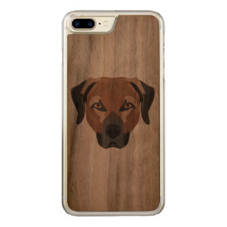 Capa iPhone 8 Plus/ 7 Plus Carved Cão Brown Labrador da ilustração