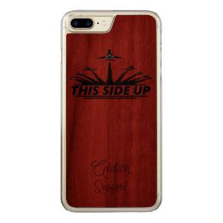 Capa iPhone 8 Plus/ 7 Plus Carved Caso positivo do iPhone 7 da aviação