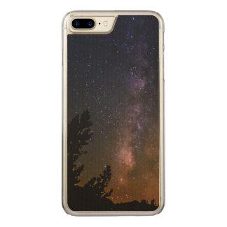 Capa iPhone 8 Plus/ 7 Plus Carved Céu nocturno da Via Láctea, Califórnia
