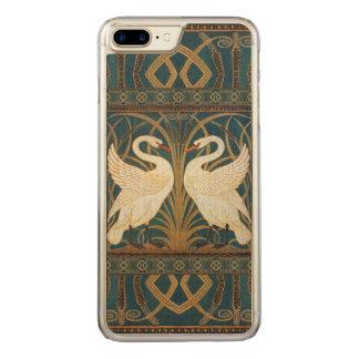 Capa iPhone 8 Plus/ 7 Plus Carved Cisne do guindaste de Walter, precipitação e arte