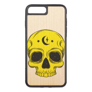 Capa iPhone 8 Plus/ 7 Plus Carved Crânio artístico (azul)