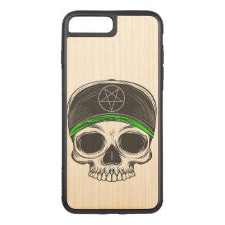 Capa iPhone 8 Plus/ 7 Plus Carved Crânio da rocha do skate