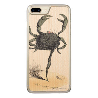 Capa iPhone 8 Plus/ 7 Plus Carved Dança crustácea na madeira