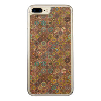Capa iPhone 8 Plus/ 7 Plus Carved Design abstrato colorido do teste padrão do
