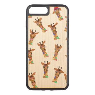 Capa iPhone 8 Plus/ 7 Plus Carved Emoções pelos Feliz Juul Empresa
