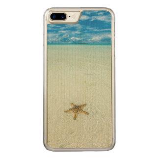 Capa iPhone 8 Plus/ 7 Plus Carved Estrela de mar na água pouco profunda, Palau