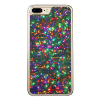 Capa iPhone 8 Plus/ 7 Plus Carved Estrelas Sparkling do Natal