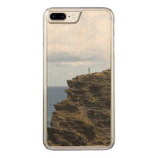 Capa iPhone 8 Plus/ 7 Plus Carved Figura solitário em um penhasco