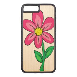 Capa iPhone 8 Plus/ 7 Plus Carved Flor artística do primavera