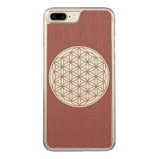 Capa iPhone 8 Plus/ 7 Plus Carved Flor da vida