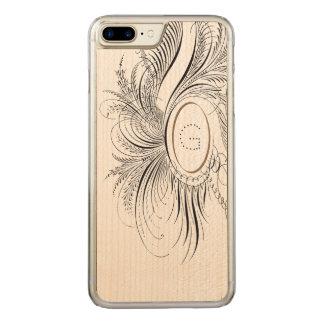 Capa iPhone 8 Plus/ 7 Plus Carved Flourish da caligrafia