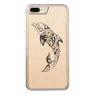 Capa iPhone 8 Plus/ 7 Plus Carved Golfinho tribal