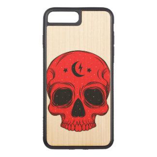Capa iPhone 8 Plus/ 7 Plus Carved Ilustração artística do crânio