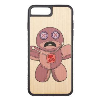 Capa iPhone 8 Plus/ 7 Plus Carved Ilustração da boneca do Voodoo