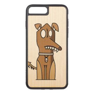 Capa iPhone 8 Plus/ 7 Plus Carved Ilustração do filhote de cachorro