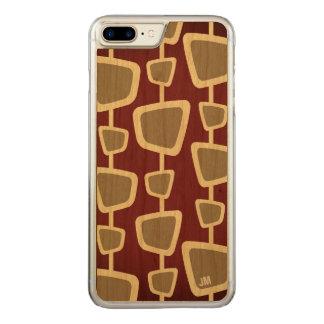 Capa iPhone 8 Plus/ 7 Plus Carved iPhone moderno retro 8 do monograma mais o caso 7