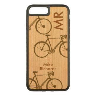 Capa iPhone 8 Plus/ 7 Plus Carved iPhone personalizado 6 com as bicicletas na