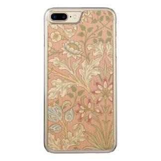 Capa iPhone 8 Plus/ 7 Plus Carved Jacinto GalleryHD de William Morris de matéria