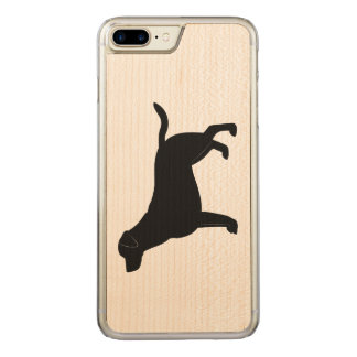 Capa iPhone 8 Plus/ 7 Plus Carved Labrador retriever na silhueta
