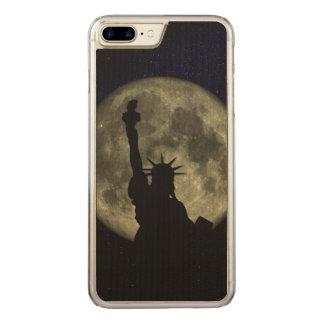 Capa iPhone 8 Plus/ 7 Plus Carved Lua e senhora Liberdade