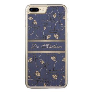 Capa iPhone 8 Plus/ 7 Plus Carved Médico, enfermeira, medique estetoscópios