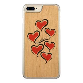 Capa iPhone 8 Plus/ 7 Plus Carved Meus namorados do querido
