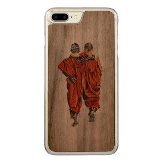 Capa iPhone 8 Plus/ 7 Plus Carved Monges budistas