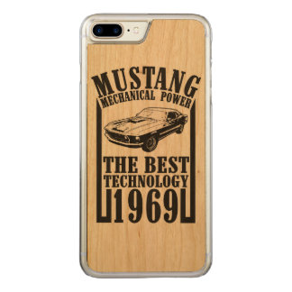 Capa iPhone 8 Plus/ 7 Plus Carved Mustang