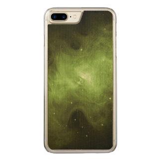 Capa iPhone 8 Plus/ 7 Plus Carved Nebulosa de caranguejo, resto do Supernova, luz