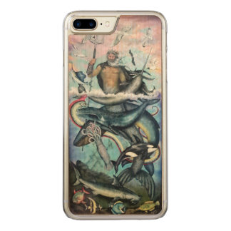Capa iPhone 8 Plus/ 7 Plus Carved Netuno