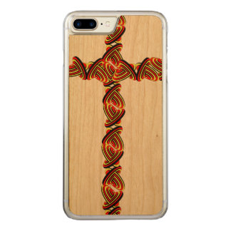 Capa iPhone 8 Plus/ 7 Plus Carved O amor circunda o iPhone transversal 7 positivo